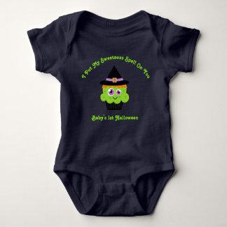Sweet Witch Cupcake Baby's 1st Halloween Baby Bodysuit
