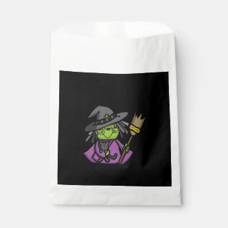 Sweet Witch Halloween Favor Bags Favour Bags
