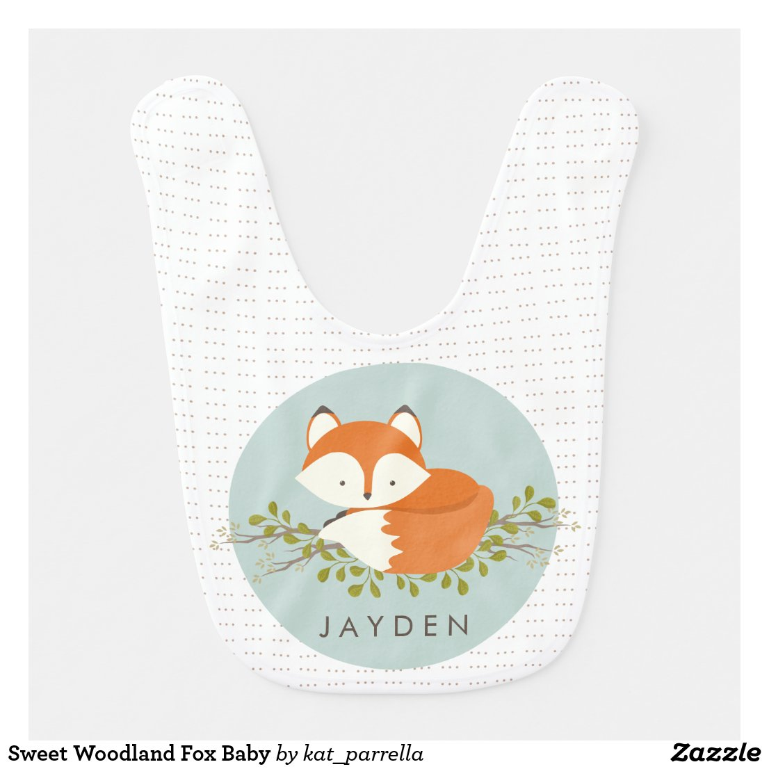 Sweet Woodland Fox Baby