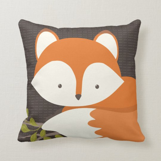 Sweet Woodland Fox Baby Snuggly Pillow   Zazzle.co.uk