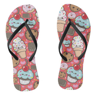 sweet world flip flops