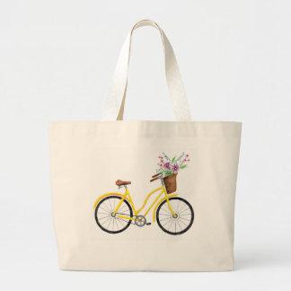 Sweet Yellow Bike Tote