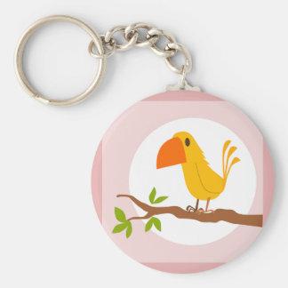 sweet yellow bird, sweet yellow bird keychain