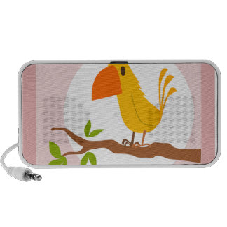 sweet yellow bird, sweet yellow bird mini speakers