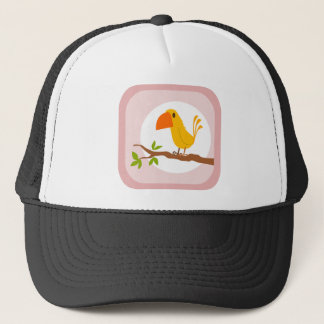 sweet yellow bird, sweet yellow bird trucker hat