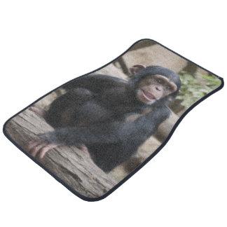 Sweet youmg Chimpanzee Car Mat