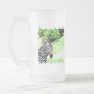Sweet Zebra Frosted Mug