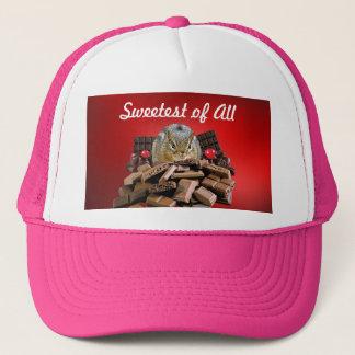 Sweetest Day Chocolate Chipmunk Trucker Hat
