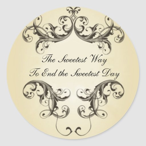 Sweetest Day Favour Stickers