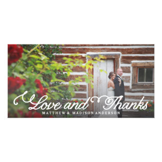 Sweetest Day | Wedding Thank You Photo Card