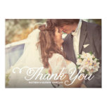 Sweetest Day | Wedding Thank You Photo Card 13 Cm X 18 Cm Invitation Card