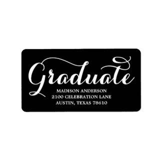 Sweetest Grad   Graduation Address Label