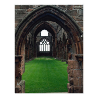Sweetheart Abbey, New Abbey, Sumfriesshire, Scotla 21.5 Cm X 28 Cm Flyer