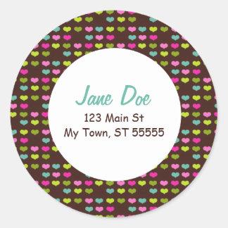 Sweetheart Address Sticker
