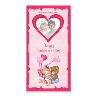 Sweetheart Bears Customised Photo Card