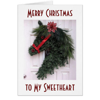 """SWEETHEART-CHRISTMAS IS SPECIAL WITH """"YOU"""" GREETING CARD"""