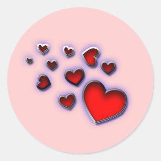 Sweetheart of Mine Round Sticker