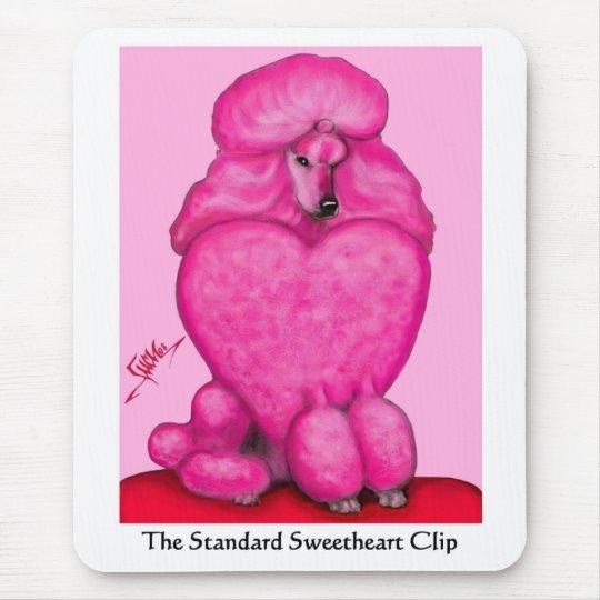 Sweetheart Poodle Mousepad