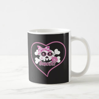 Sweetheart Skull Coffee Mug