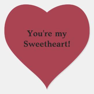 Sweetheart Sticker