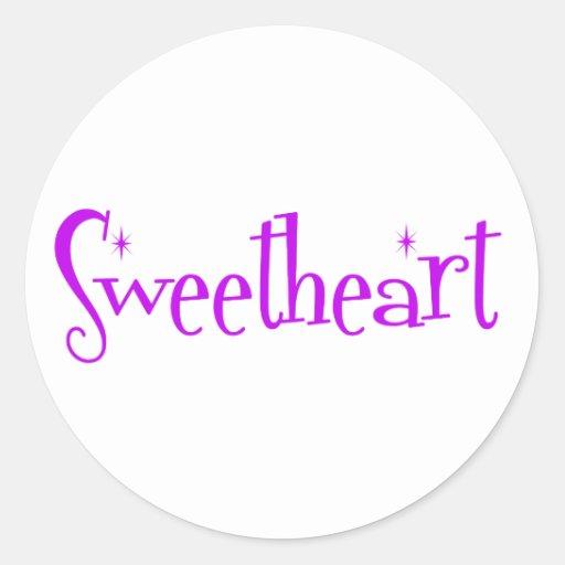 Sweetheart Stickers