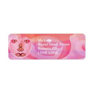 SweetHeart SWEET HEART Return Address Label