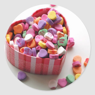 Sweethearts Candy Sticker
