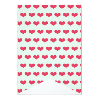 Sweethearts Pink Birthday Party DIY Bunting Banner 13 Cm X 18 Cm Invitation Card