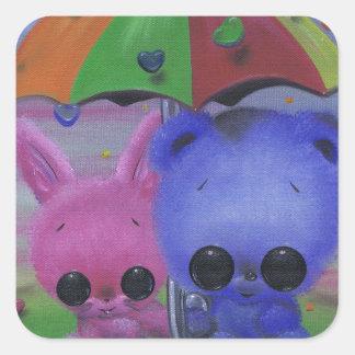 Sweethearts Square Sticker