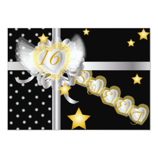 Sweetheart's Sweet Sixteen Gift-Customize Card