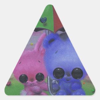 Sweethearts Triangle Sticker
