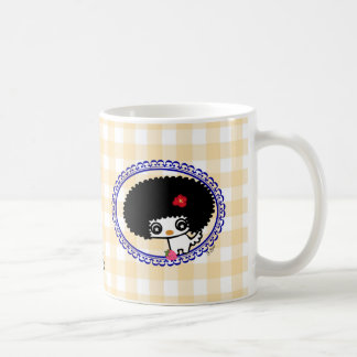 Sweetie Cute Afro Dog Mug