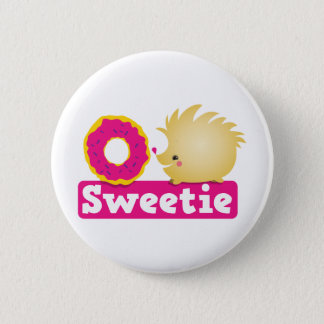 sweetie HEDGEHOG 6 Cm Round Badge