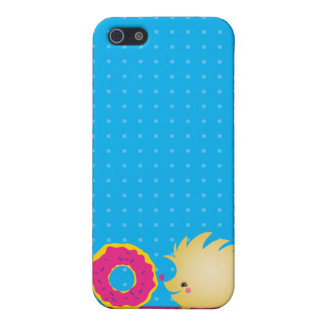 sweetie HEDGEHOG with doughnut Case For iPhone 5/5S