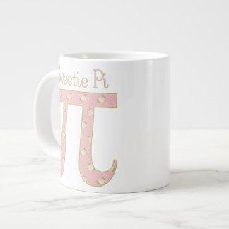 Sweetie Pi Pink Roses 20 Oz Large Ceramic Coffee Mug