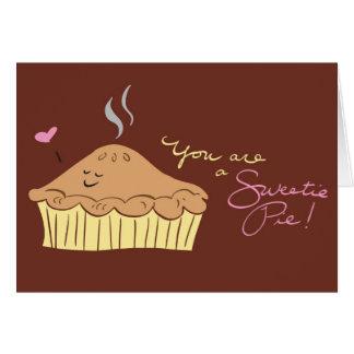 Sweetie Pie Greeting Card