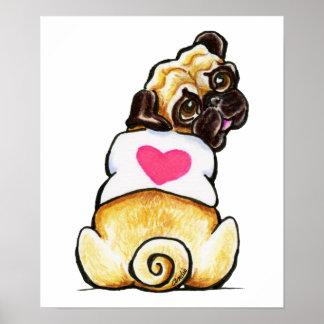 Sweetie Pug Poster