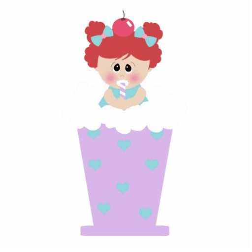 sweetie tooth ice cream soda cutie girl photo cut outs