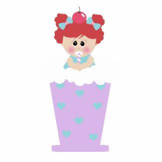 sweetie tooth ice cream soda cutie girl standing photo sculpture