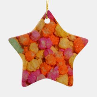 Sweeties Ceramic Star Decoration