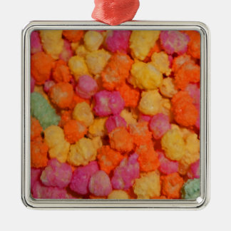 Sweeties Silver-Colored Square Decoration