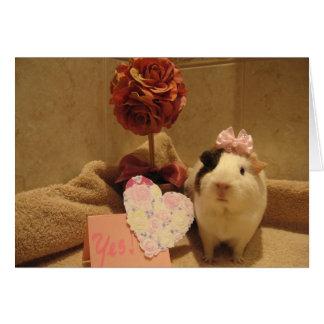 Sweetie's Valentine Card