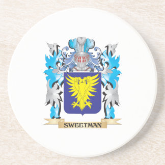 Sweetman Coat of Arms - Family Crest Coaster