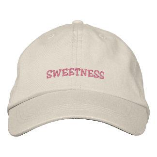 Sweetness Cap Embroidered Baseball Cap