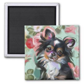 'Sweetness' Chihuahua dog art magnet