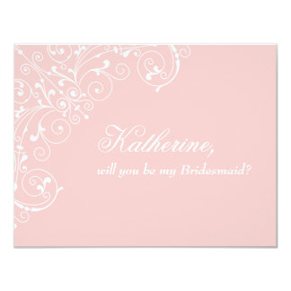 "Sweetness | ""Will you be my bridesmaid"" Card 11 Cm X 14 Cm Invitation Card"