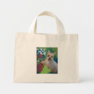 Sweetness Yorkie Mini Tote Bag