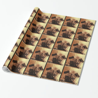 SweetPea Pugs Wrapping Paper