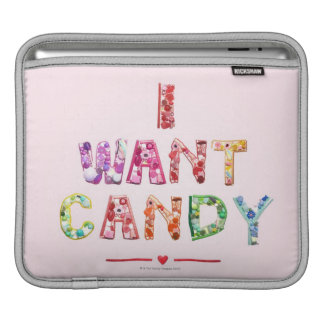 Sweets 2 iPad sleeve