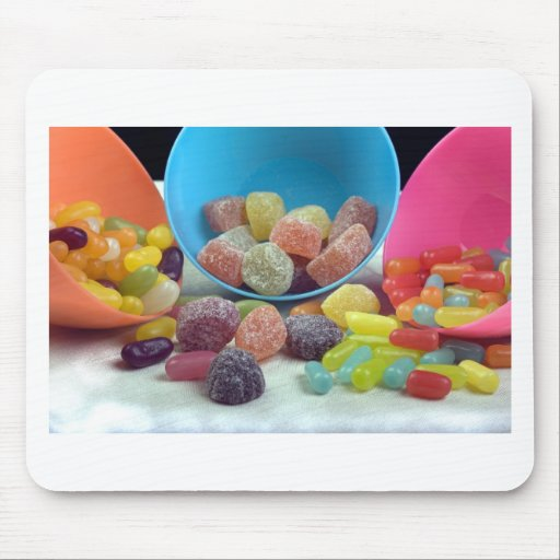 Sweets and candy mouse pads